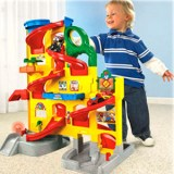parking-garazh-fisher-price